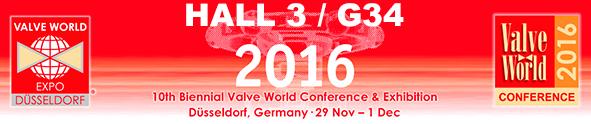 VALVE WORLD EXPO 2016